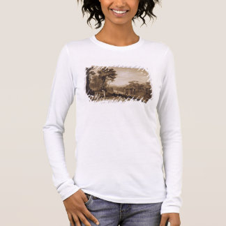 The Woman and Tambourine, engraved by Charles Turn Long Sleeve T-Shirt