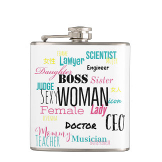 THE WOMAN FLASK