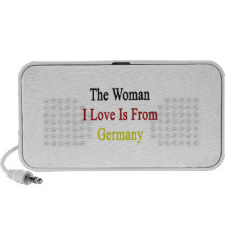 The Woman I Love Is From Germany Travel Speaker