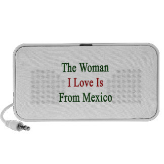 The Woman I Love Is From Mexico iPhone Speaker