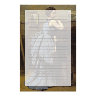 The Woman in Blue, 1874 Stationery