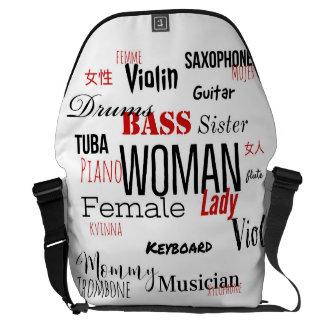 THE WOMAN MESSENGER BAG (MUSICIANS' EDITION)