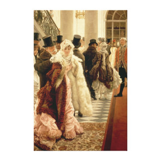 The Woman of Fashion , 1883-5 Canvas Print