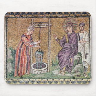 The Woman of Samaria at the Well Mouse Mat