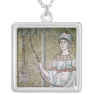 The Woman of Samaria Silver Plated Necklace