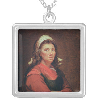 The Woman of the People Silver Plated Necklace