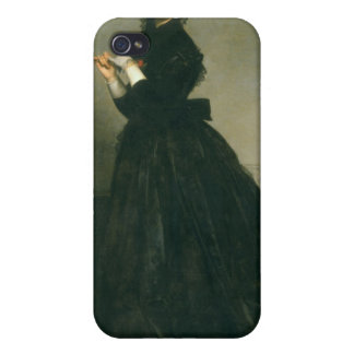The Woman with the Glove, 1869 iPhone 4/4S Cover