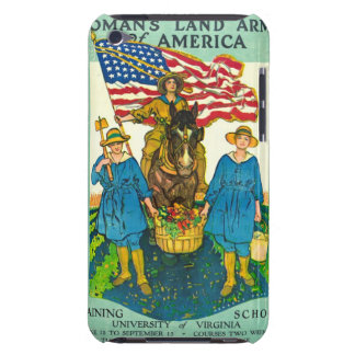 The Woman's Land Army of America 1918 iPod Touch Case