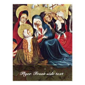 The Women At The Cross By Meister Francke (Best Qu Custom Flyer