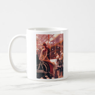 The women in the cars by James Tissot Mugs