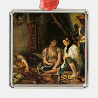 The Women of Algiers in their Apartment, 1834 Christmas Ornament