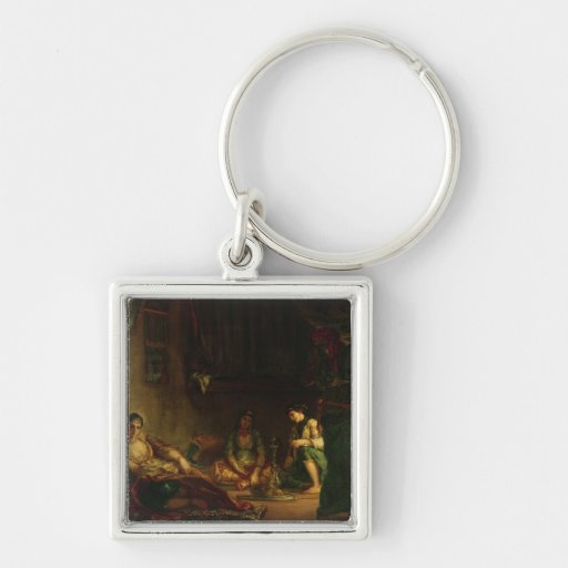 The Women of Algiers in their Harem, 1847-49 Key Chains