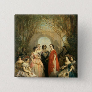 The Women of the Comedie Francaise 15 Cm Square Badge