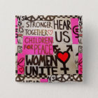 """The Women's March Continues, Pin (2"""" square)"""