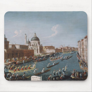 The Women's Regatta on the Grand Canal, Venice Mouse Pad