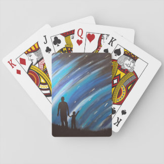 The Wonder of Fatherhood Playing Cards