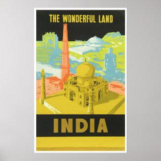 The Wonderful Land: India Poster