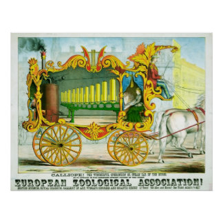 The Wonderful Operonicon Circus Poster (1874)