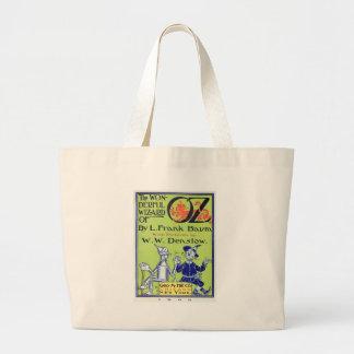 The Wonderful Wizard of Oz -- 1900 Canvas Bag