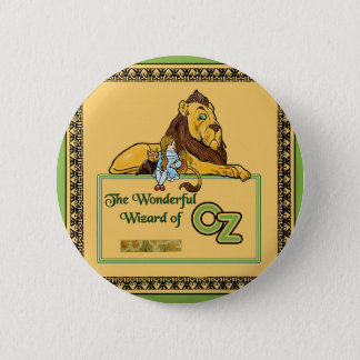 The Wonderful Wizard of Oz 6 Cm Round Badge