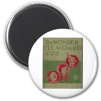 The Wonderful Wizard Of Oz 6 Cm Round Magnet