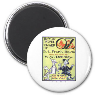the wonderful wizard of oz magnet