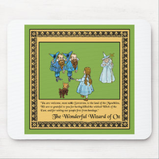 The Wonderful Wizard of Oz Mousepad