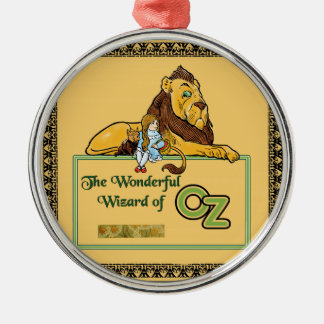 The Wonderful Wizard of Oz Silver-Colored Round Decoration