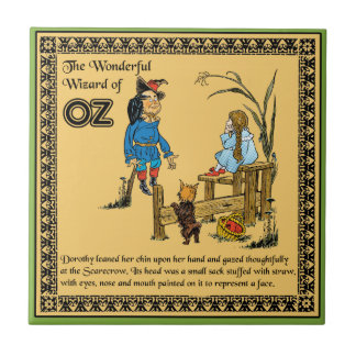 The Wonderful Wizard of Oz Small Square Tile