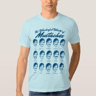 The Wonderful World of Moustaches Shirt
