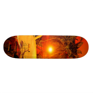 The wonderland with fish house skate board decks
