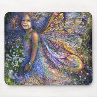 The Wood Fairy Mouse Mat