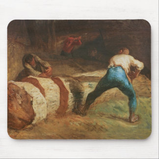 The Wood Sawyers, 1848 Mouse Mat