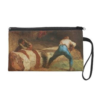 The Wood Sawyers, 1848 Wristlet Purse