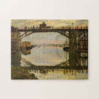 The Wooden Bridge Monet Fine Art Jigsaw Puzzle