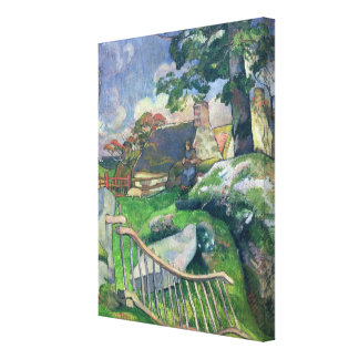 The Wooden Gate or, The Pig Keeper, 1889 Canvas Prints