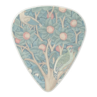 The Woodpecker Tapestry, detail of the woodpeckers Acetal Guitar Pick