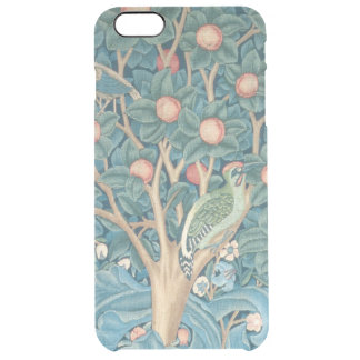 The Woodpecker Tapestry, detail of the woodpeckers Clear iPhone 6 Plus Case