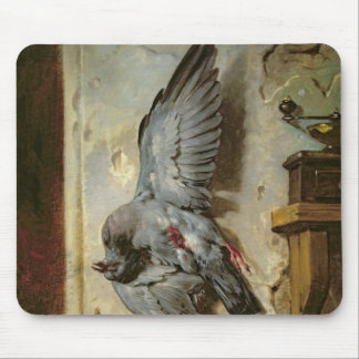 The Woodpigeon, c.1857 Mouse Mat
