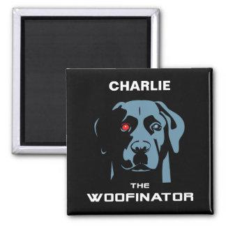 The Woofinator Labrador Magnet