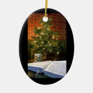 The Word at Christmas Christmas Ornament