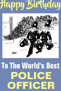 The Words Best Police Officer
