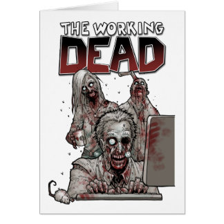 THE WORKING DEAD GREETING CARDS