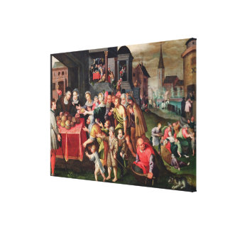 The Works of Mercy Canvas Print