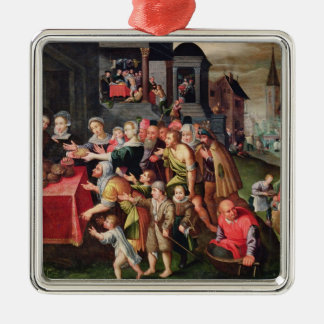 The Works of Mercy Christmas Ornament