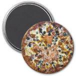 The Works Pizza Fridge Magnet