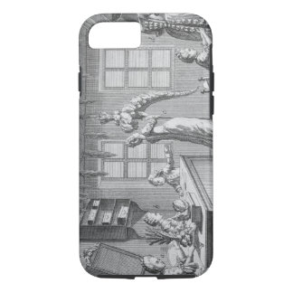 The workshop of a dressmaker, illustration from th iPhone 8/7 case