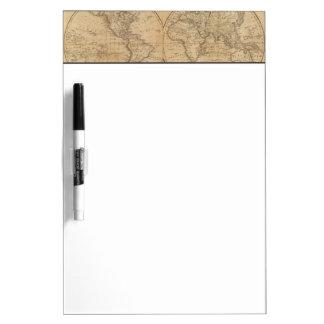 The World 2 2 Dry Erase Board