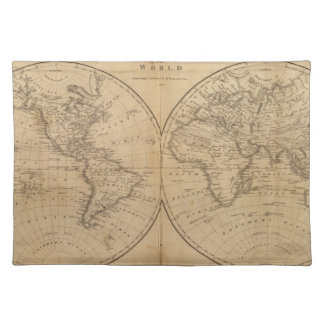 The World 2 2 Placemat