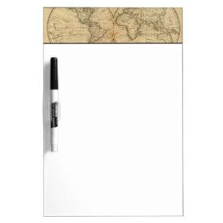 The World 2 Dry Erase Board